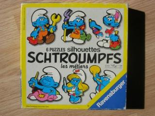 Les puzzles 80's de D.A, séries ou de  gamme de jouets.... Schtro13