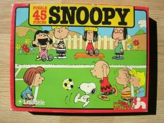 Les puzzles 80's de D.A, séries ou de  gamme de jouets.... Snoopy10