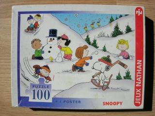 Les puzzles 80's de D.A, séries ou de  gamme de jouets.... Snoopy11