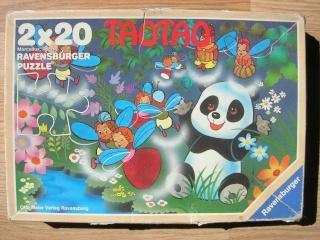 Les puzzles 80's de D.A, séries ou de  gamme de jouets.... Tao_ta10
