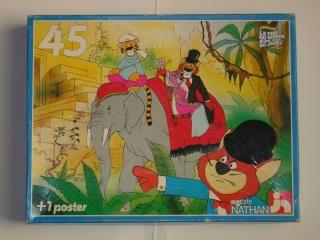Les puzzles 80's de D.A, séries ou de  gamme de jouets.... Tour_d11