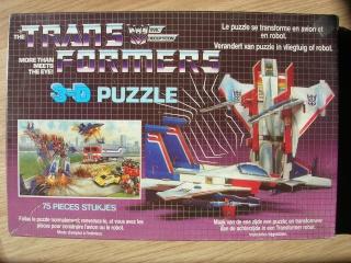 Les puzzles 80's de D.A, séries ou de  gamme de jouets.... Transf12
