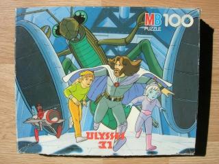 Les puzzles 80's de D.A, séries ou de  gamme de jouets.... Ulysse10