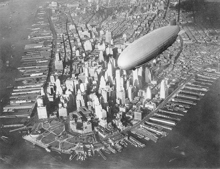 Zeppelines sobre NY Ussakr10