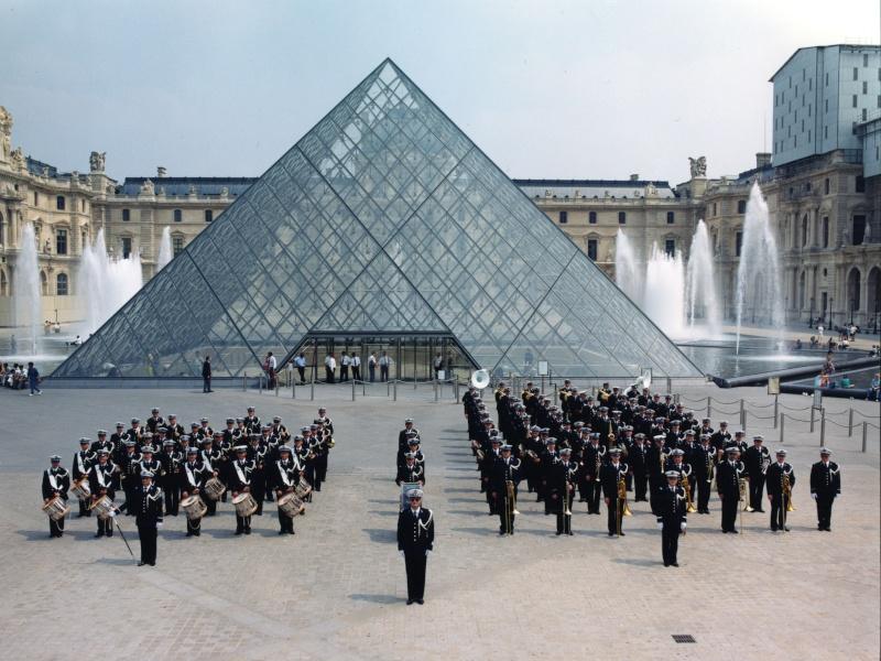 PHOTOS de concert de la BF de la Police Nationale Louvre10