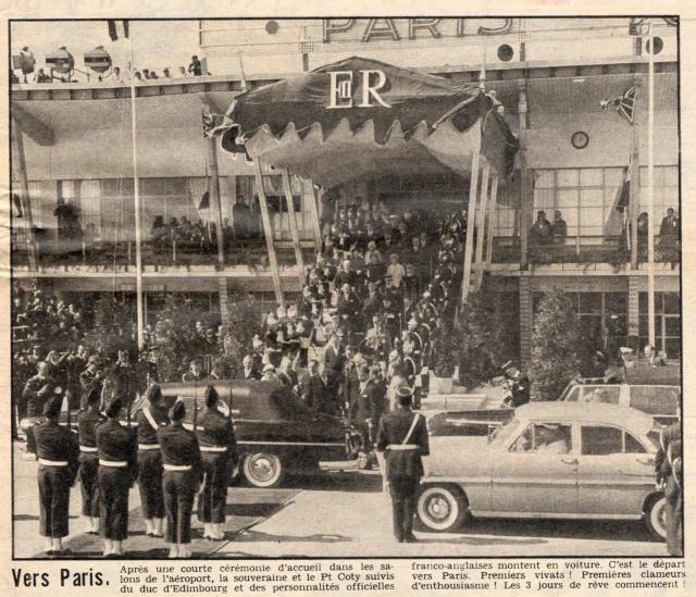 Visite royale - avril 1957 Reine_10