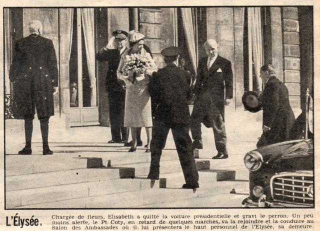 Visite royale - avril 1957 Reine_12