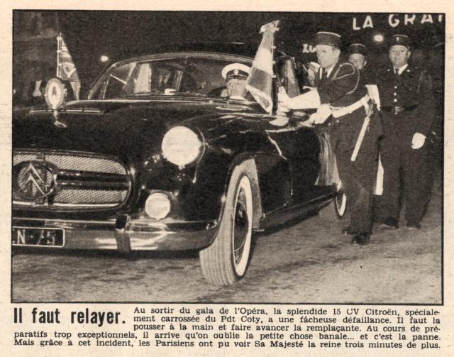 Visite royale - avril 1957 Reine_17