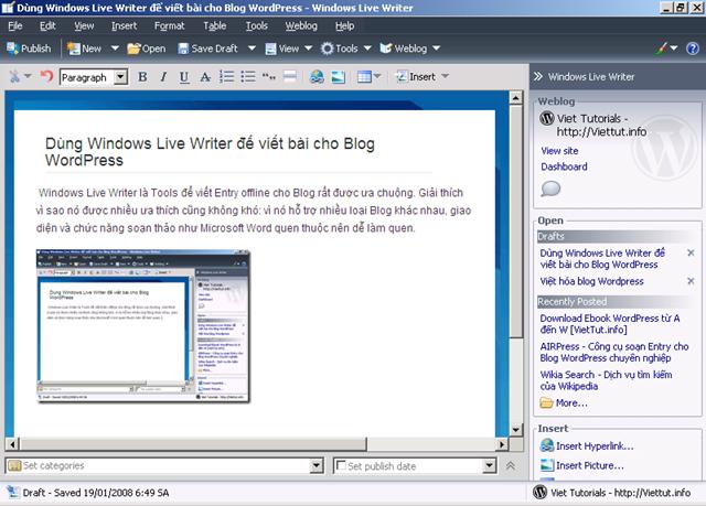 Viết Blog dễ hơn với Windows Live Writer Image10