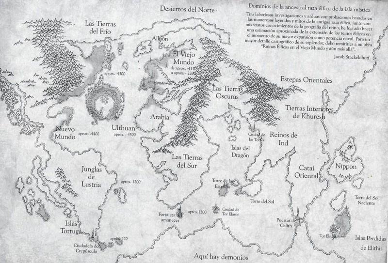 Mapas del Mundo de Warhammer Mundo_10