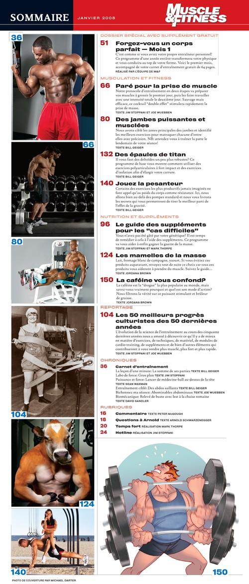fitness - Muscle et Fitness (revue ) Sommai10