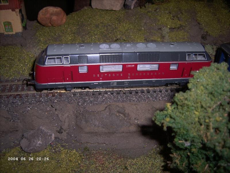 Roco H0 - Art.43522  Baureihe V200 035 Pict1219