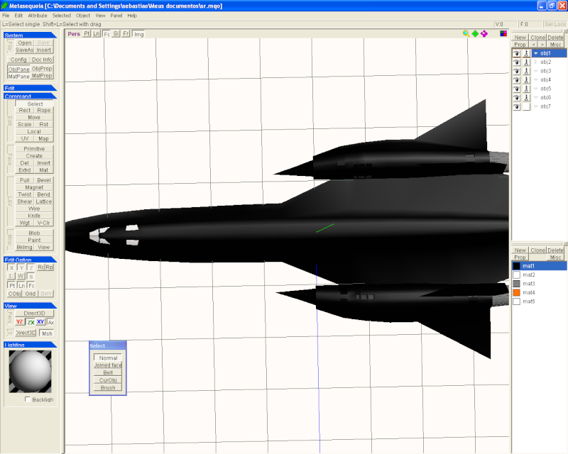 [AVIAO]lockheed SR-71 blackbird Corpo12
