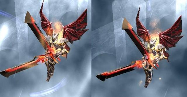 Bone Blade Roja Con Azul Bone_y10