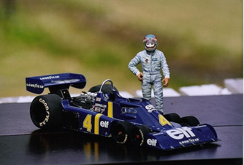 Tyrrell Ford P34 Patrick Depailler 1976 41b-f110
