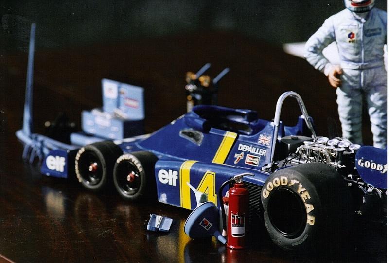 Tyrrell Ford P34 Patrick Depailler 1976 41b-f111