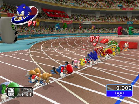 Wii - Mario and Sonic At Olympic Games (NTSC) Mario-12