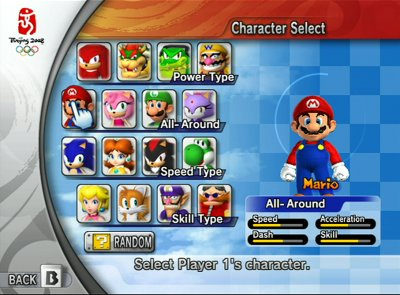 Wii - Mario and Sonic At Olympic Games (NTSC) Selecc10