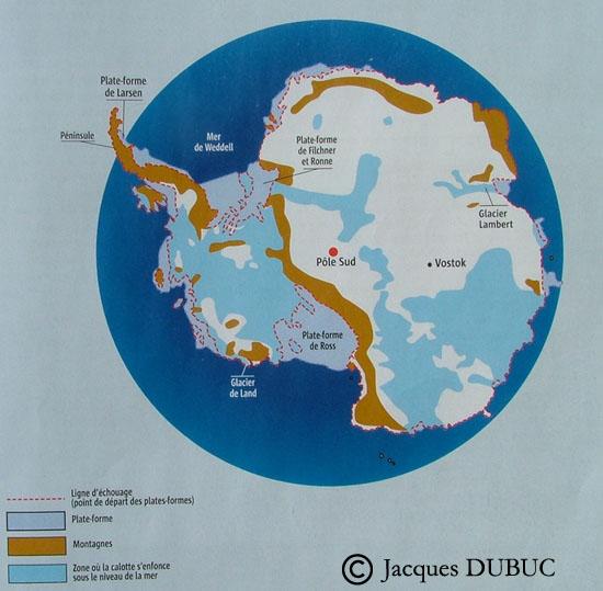 Que cachent les glaces de l'Antarctique? Antarc11
