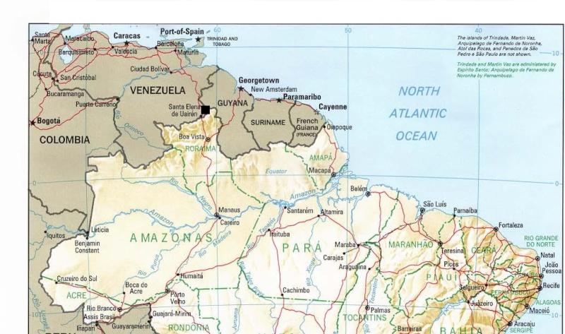 Entre Vénézuela, Guyana et Brésil : Un monde perdu Brazil11