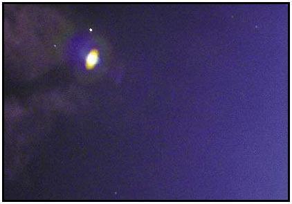 OVNIs pasean por le cielo Ibaguereño, Colombia Foto2010