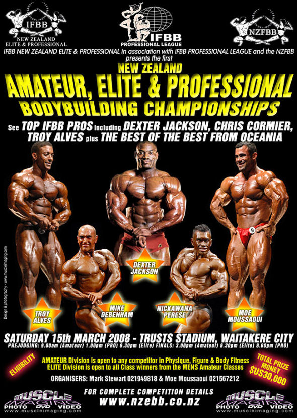 New Zealand Elite Pro 2008 Poster10