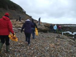 International Beach Clean up & PADI Project AWARE Dscf0511
