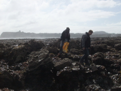 International Beach Clean up & PADI Project AWARE Dscf1311