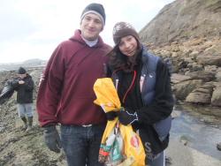 International Beach Clean up & PADI Project AWARE Dscf1313