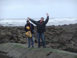 International Beach Clean up & PADI Project AWARE Dscf1316