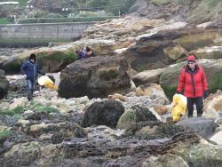 International Beach Clean up & PADI Project AWARE Dscf1323