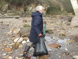 International Beach Clean up & PADI Project AWARE Dscf1414