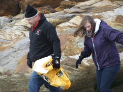 International Beach Clean up & PADI Project AWARE Dscf1423
