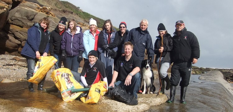 International Beach Clean up & PADI Project AWARE Dscf1428