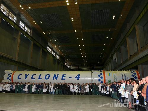 Le lanceur Tsiklone-4 Cyclon10