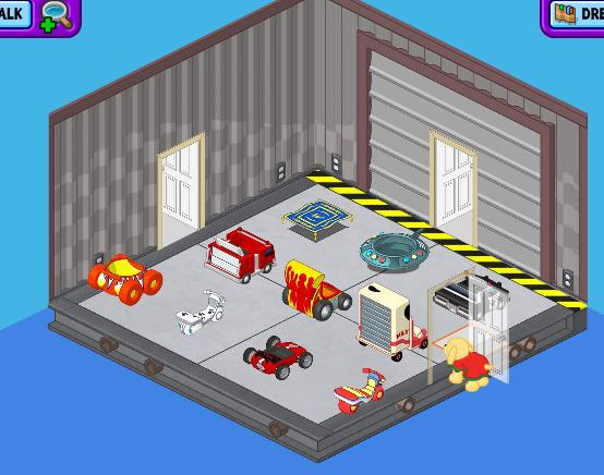 "Ally's WW Room-  ""The Garage"" Garage10"