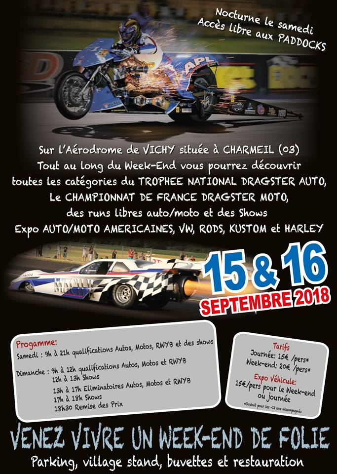 Vichy Speed Final Dragster 2018 - 15/16 septembre 40164610
