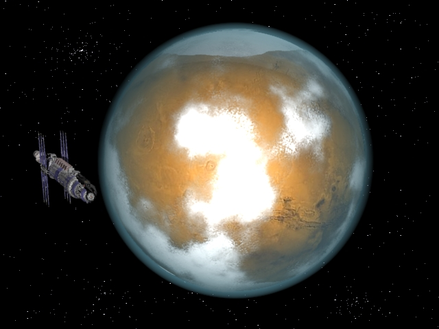De la 3D maison! Mars3d11