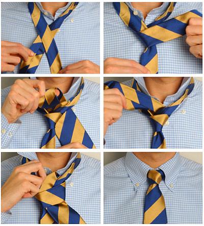 Завязывания галстука: наглядные способы (фото и видео). G211