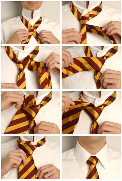 Завязывания галстука: наглядные способы (фото и видео). G511