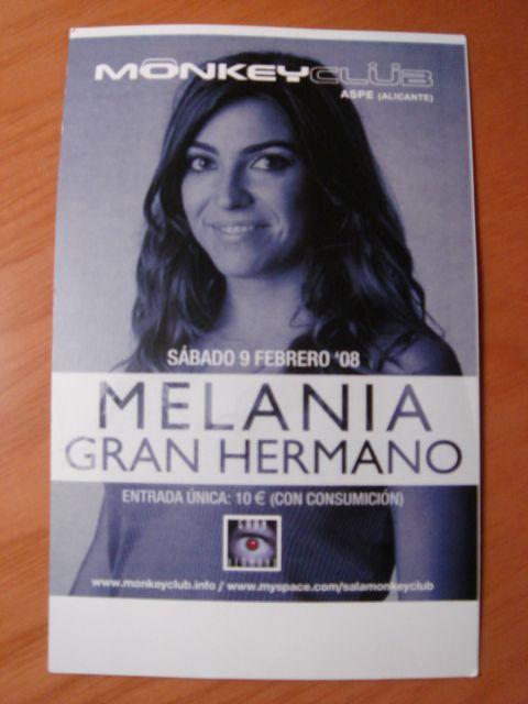 Crónica del bolo de Melania en Monkey Club (Aspe, Alicante) Flyer10