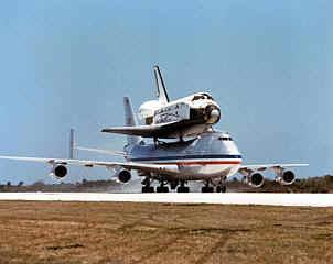 Atterrissage de la Navette Atlantis, mission STS-122 Navett10