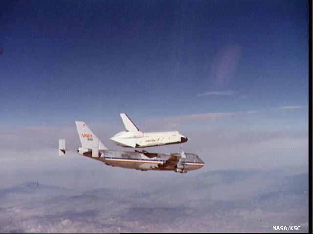 Atterrissage de la Navette Atlantis, mission STS-122 Navett11