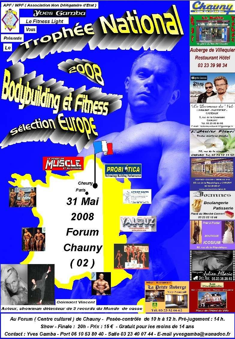 france - FINALE FRANCE 2008 APW - WPF Affich10