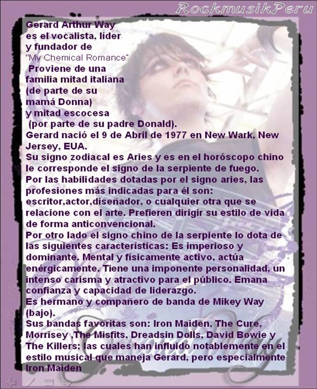 Gerard Way Geryli11