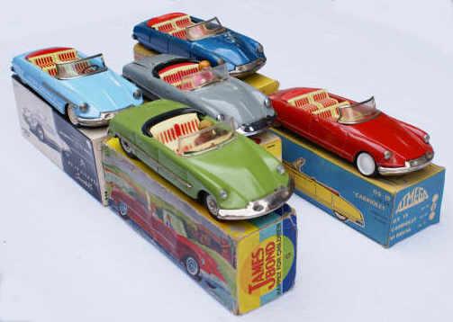 DS cabriolets Joustra, James Bond, Atmega, Bandai, MF 5_cabr10