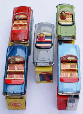 DS cabriolets Joustra, James Bond, Atmega, Bandai, MF 5_cabr11