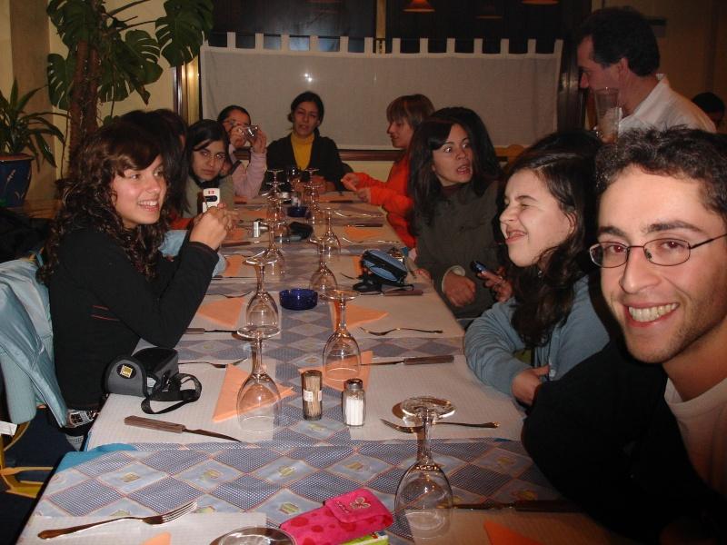 jantar do grupo de dança - janeiro 2006 Dsc03810