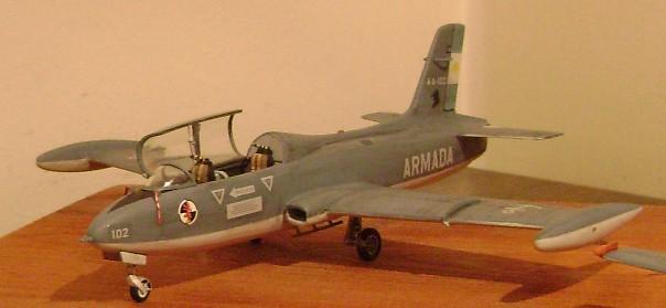 Modelismo Aeronaval - Armada Argentina Mb326410