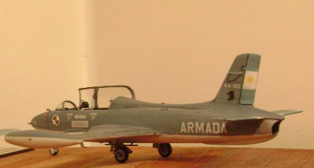 Modelismo Aeronaval - Armada Argentina Mb326411